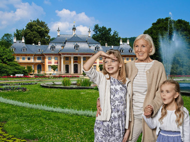 Familie in Pillnitz